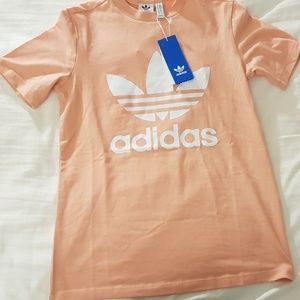 NWT Adidas pink shirt